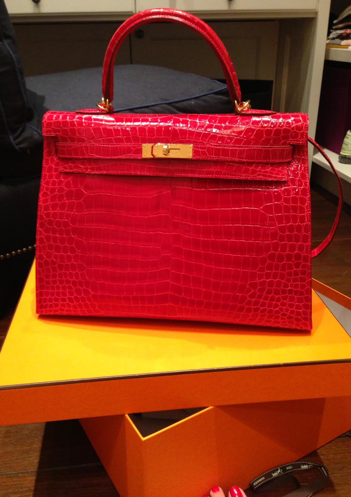 Hermes Kelly Crocodile Bag \u2013 Maky